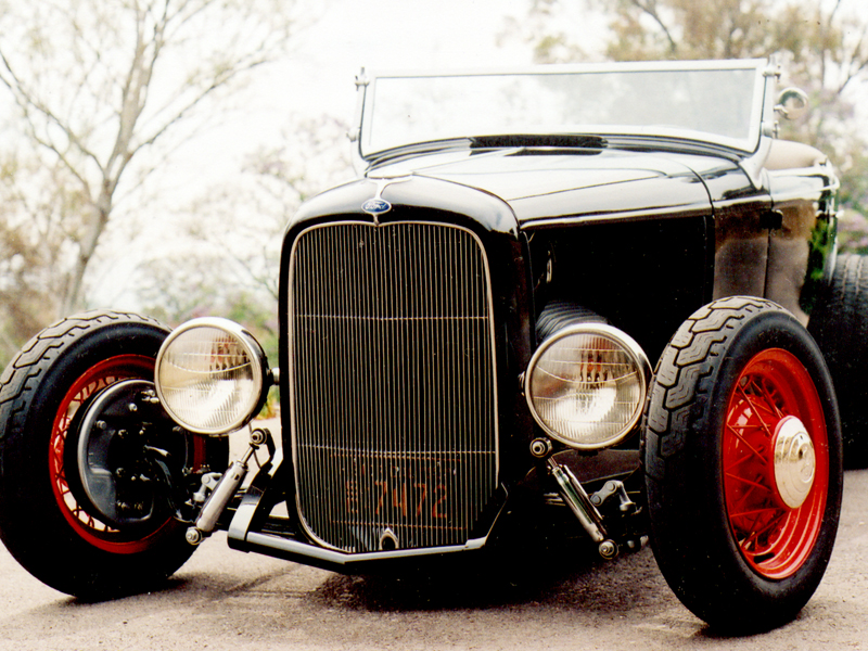 1932 Ford Headlights : Ford roadster iversen originals